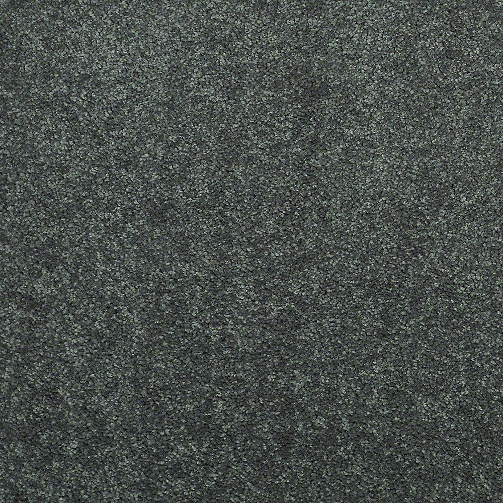 Watercolors I - Color Gun Metal Texture 15 ft. Carpet