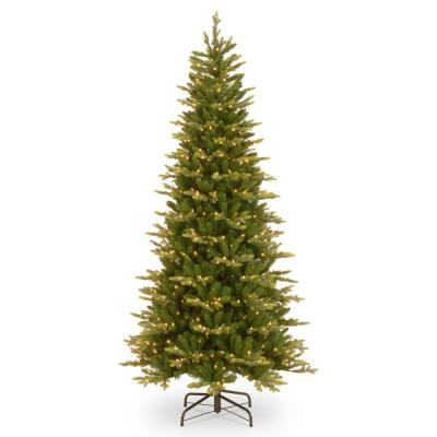 7.5 ft. PowerConnect Glen Ridge Slim Spruce with Clear Lights
