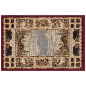 Tayse Rugs Nature Red 2 ft. x 3 ft. Accent Rug by Tayse Rugs