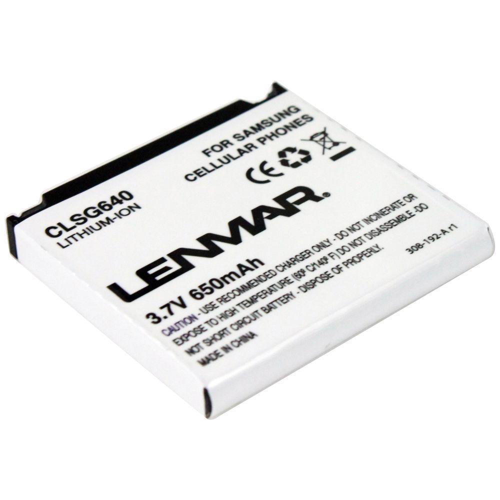 Lenmar Lithium-Ion 650mAh/3.7-Volt Mobile Phone Replacement Battery