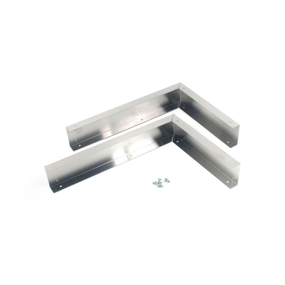 Universal Hood Filler Kit for 36 in. Openings - Stainless Steel