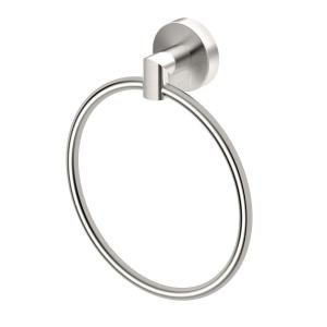 Gatco Glam, Towel Ring in Satin Nickel by Gatco