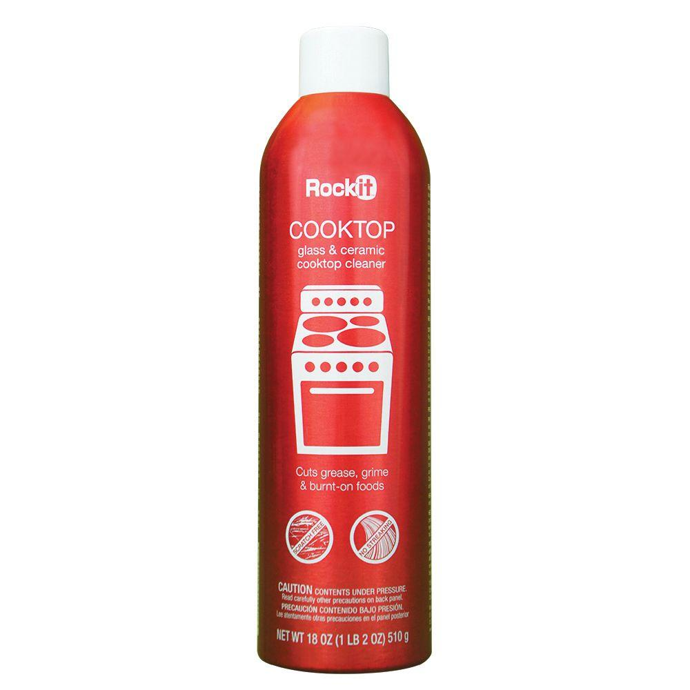 Rockit Oil 18 oz. Cooktop Cleaner