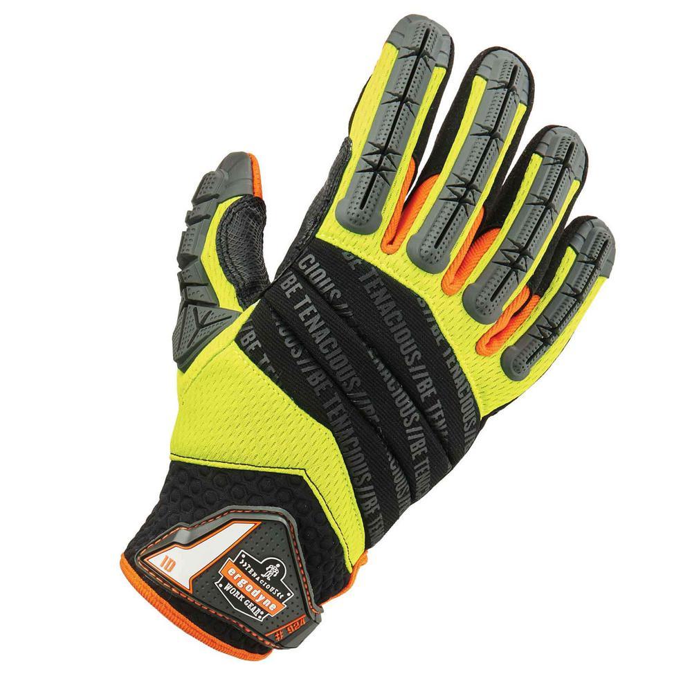 ProFlex XX-Large Hybrid Dorsal Impact-Reducing Gloves