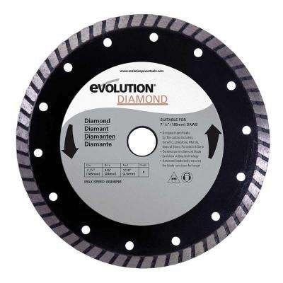 7-1/4 in. Diamond Masonry Blade