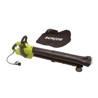 200 MPH 615 CFM 13 Amp Variable-Speed All-in-One Electric Blower/Vacuum/Mulcher