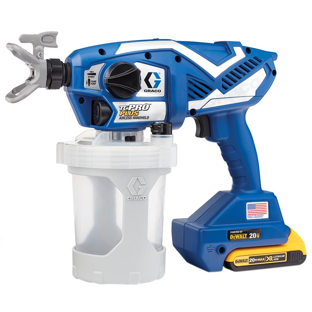 graco tc pro plus airless paint sprayer