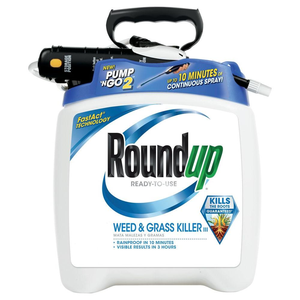 Roundup Weed And Gr Iii With Pump N Go Ready To Use