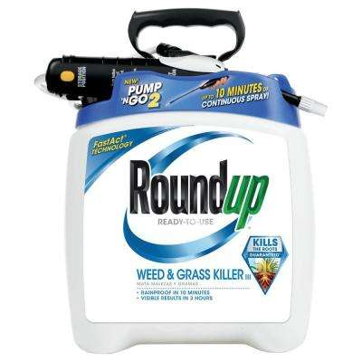 1.33 Gal. Ready-to-Use Plus Pump 'N Go Weed and Grass Killer (4-Case)