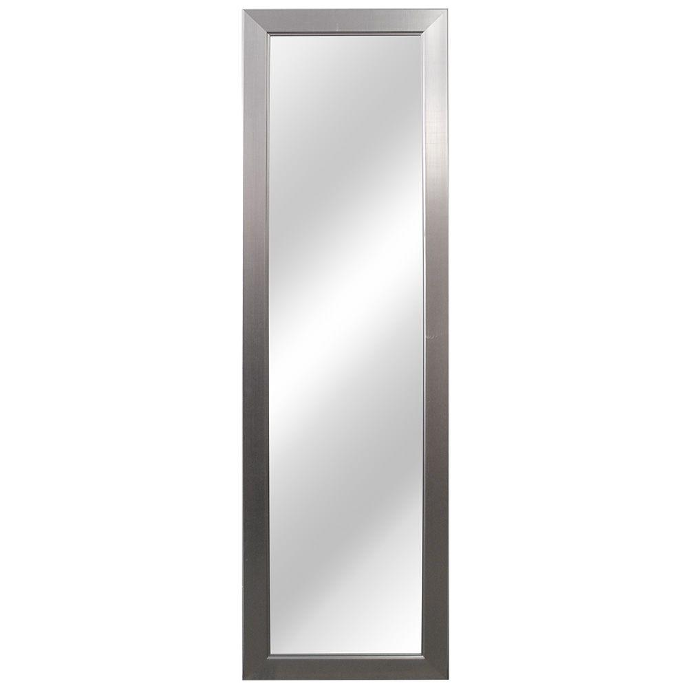 Home Decorators Collection 15 in. W x 51 in. L Framed Fog Free Wall ...