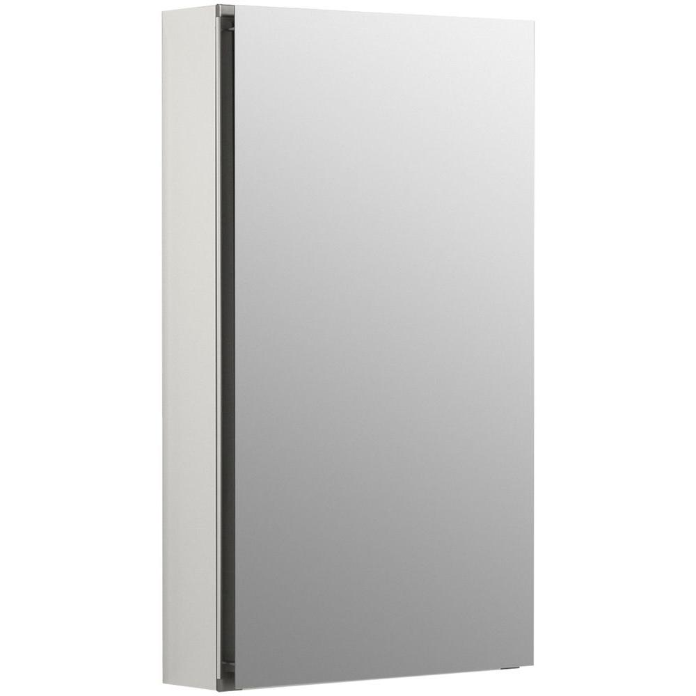 KOHLER Flat Edge 15 in. x 26 in. Recessed or Surface Mount ...