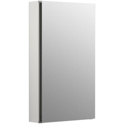 Flat Edge 15 in. x 26 in. Recessed or Surface Mount Medicine Cabinet