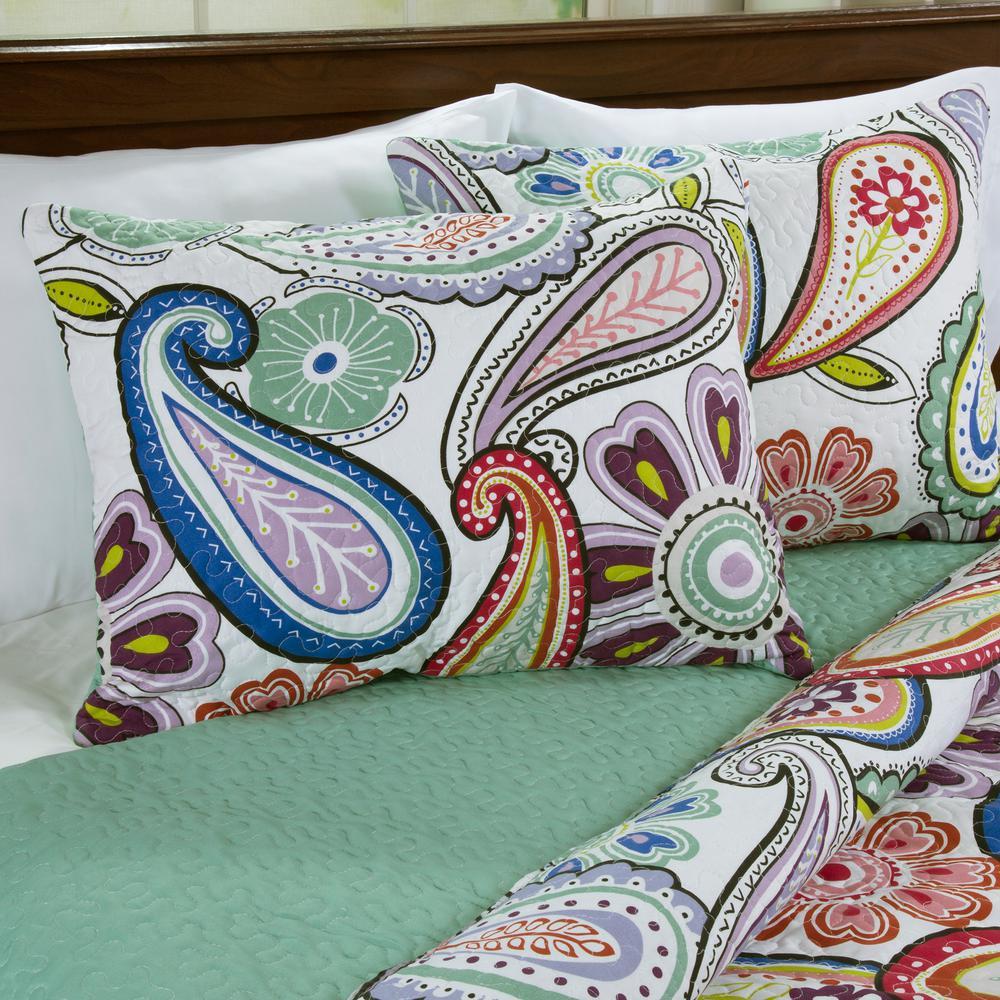 Lizzie Green Quilt Set