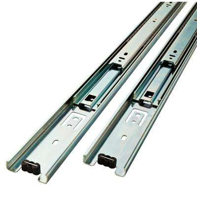 18 in. Full Extension Ball Bearing Side Mount Drawer Slide Set