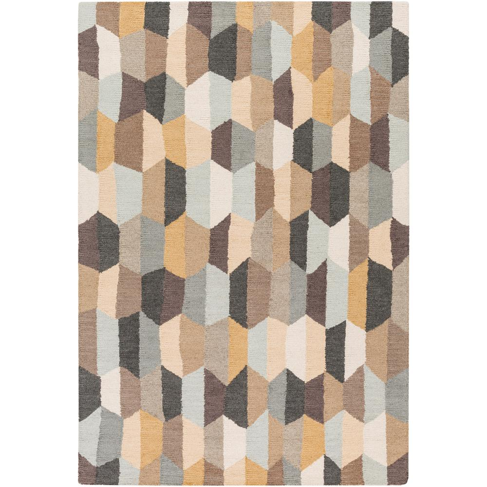 Giovanna Tan 5 ft. x 7 ft. 6 in. Area Rug