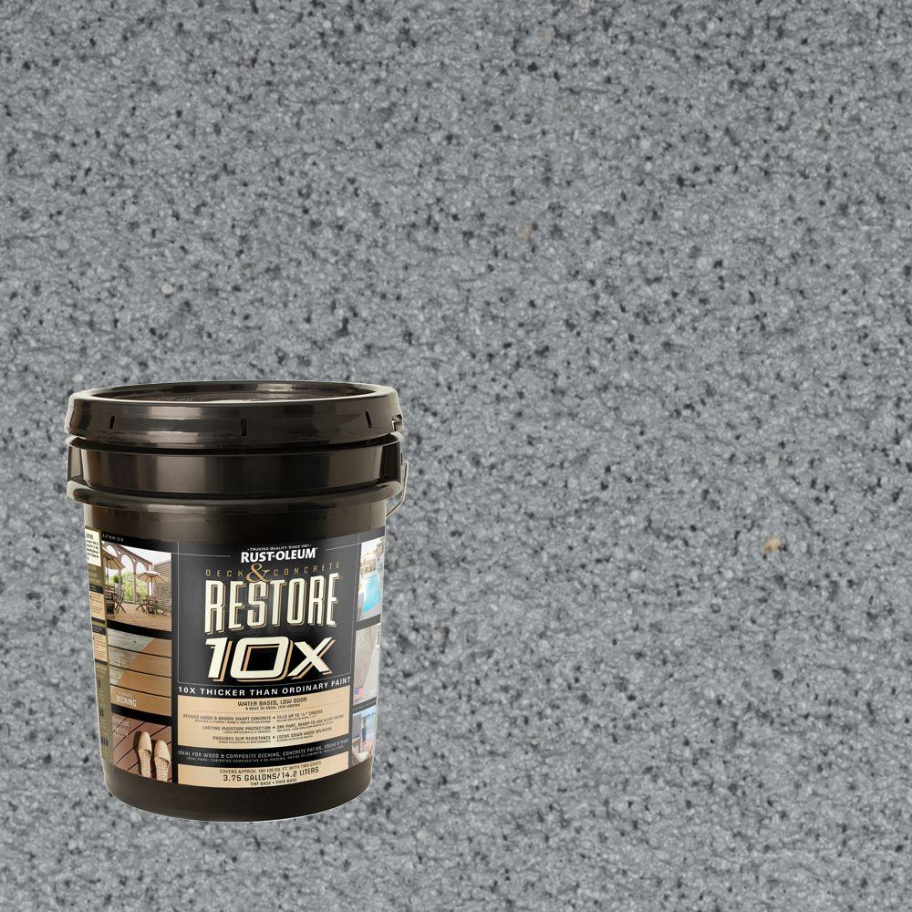 Rust-Oleum Restore 4-gal. Slate Deck and Concrete 10X Resurfacer