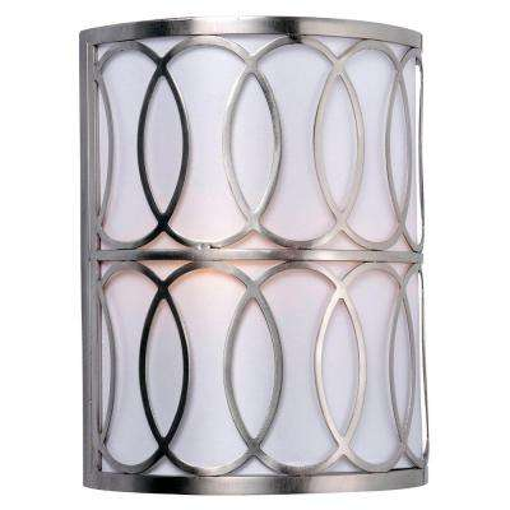 Venn 2-Light Brushed Nickel Sconce
