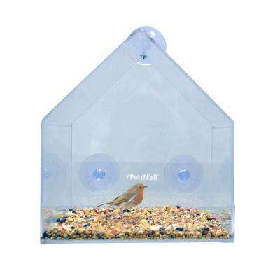 Clear View Window Bird Feeder