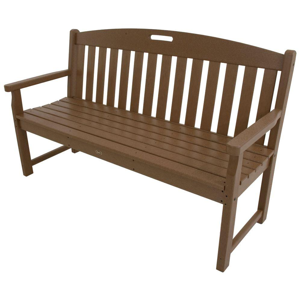 Trex Outdoor Furniture Yacht Club 60 in. Tree House Patio Bench ...