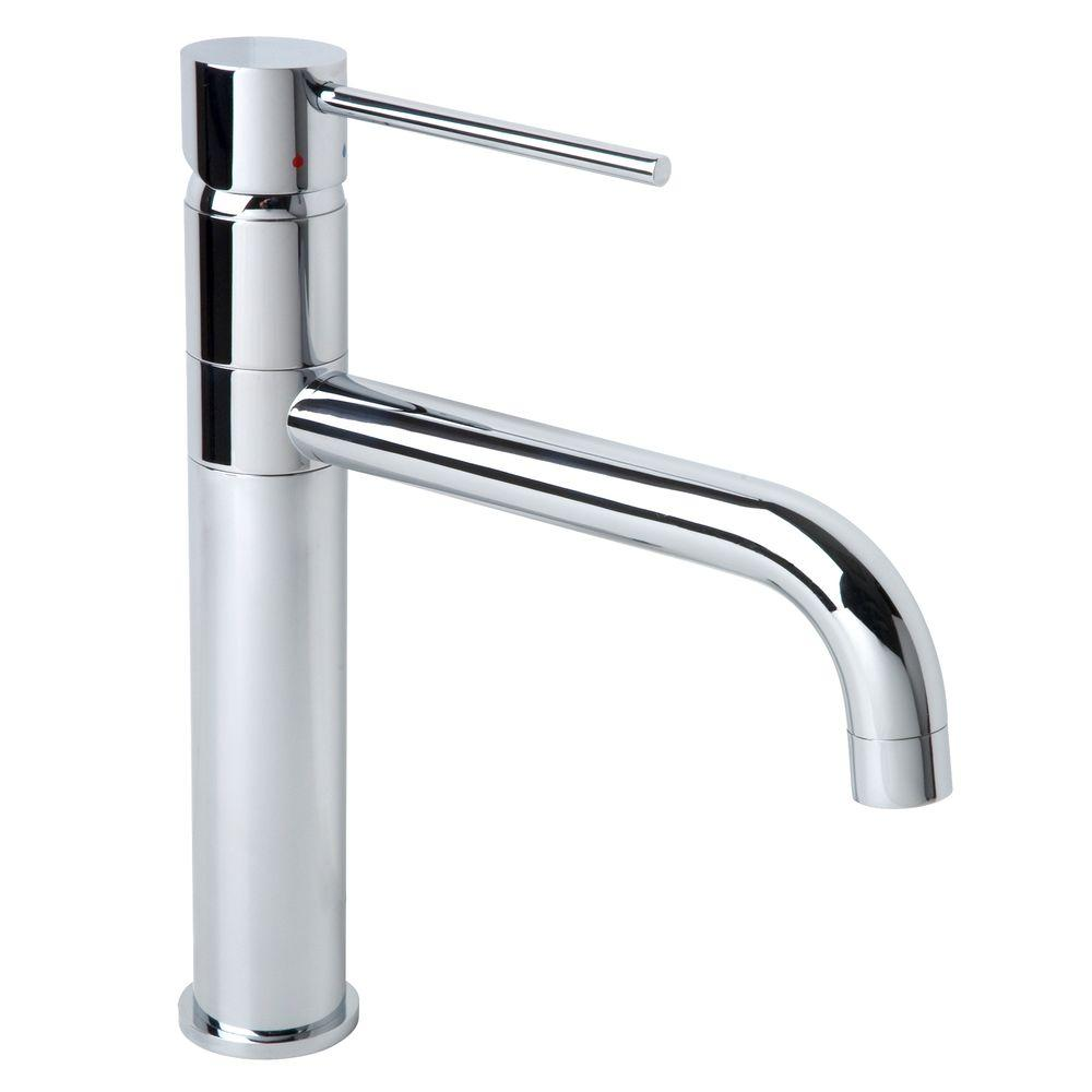 Symmons Dia Single Handle Standard Kitchen Faucet In Chrome S 2660 The Home Depot