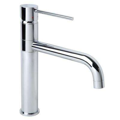 Dia Single-Handle Standard Kitchen Faucet in Chrome