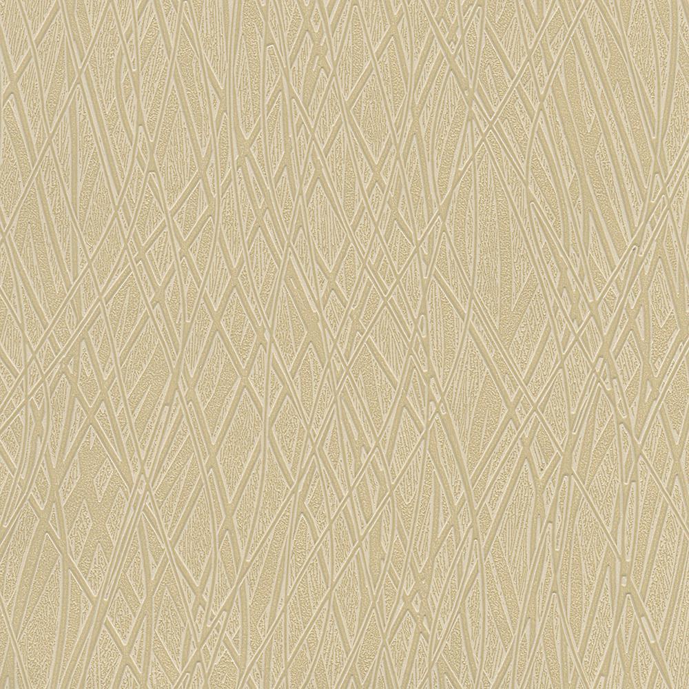 Allegro Gold Embossed Wallpaper Sample