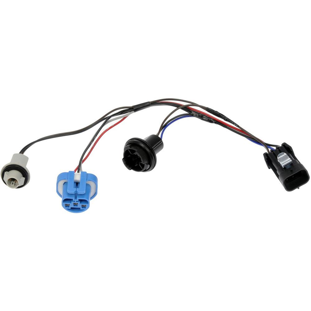 TECHoice Wiring Harness With Bulb Sockets For Left Or Right Headlamp on