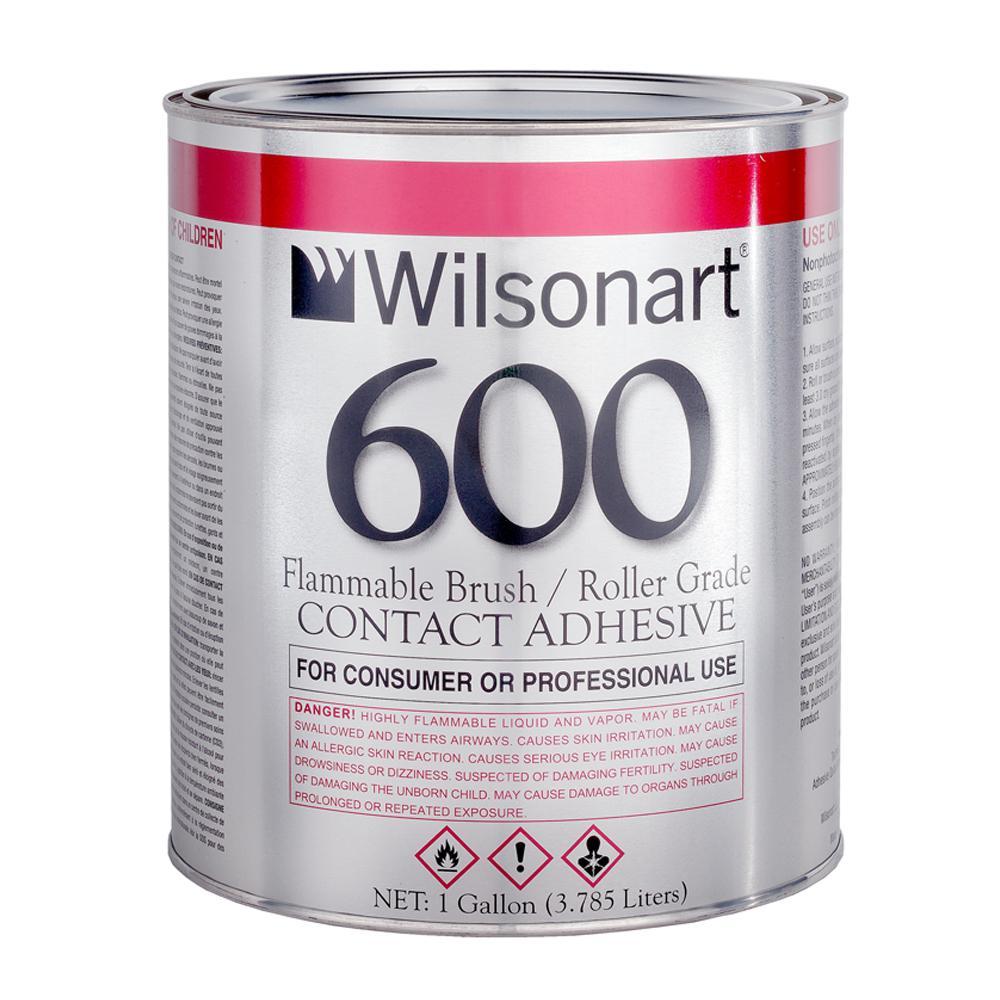 Wilsonart 128 fl. oz. WA600 Consumer Brush/Roller Grade Contact Adhesive