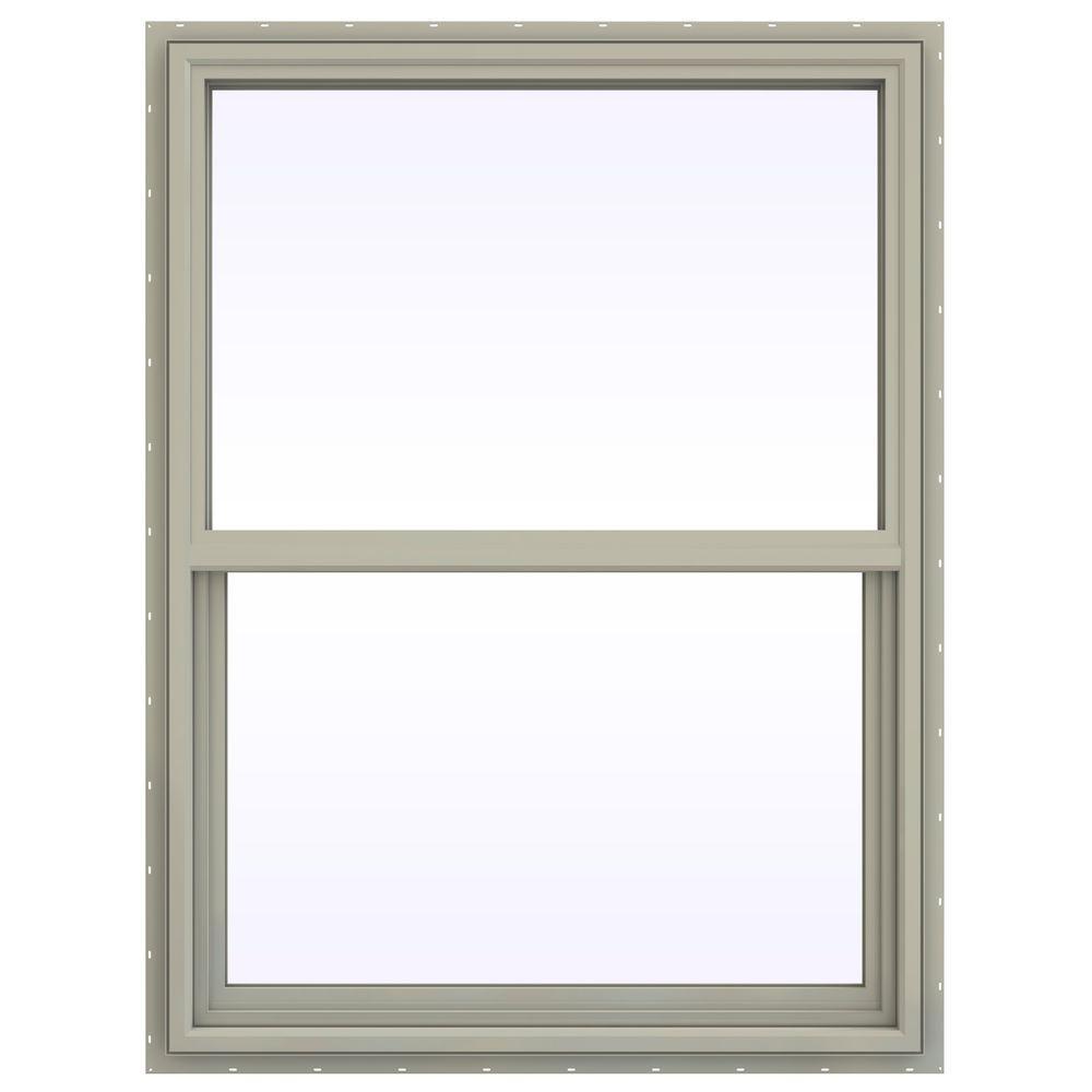 35.5 in. x 41.5 in. V-4500 Series Single Hung Vinyl Window