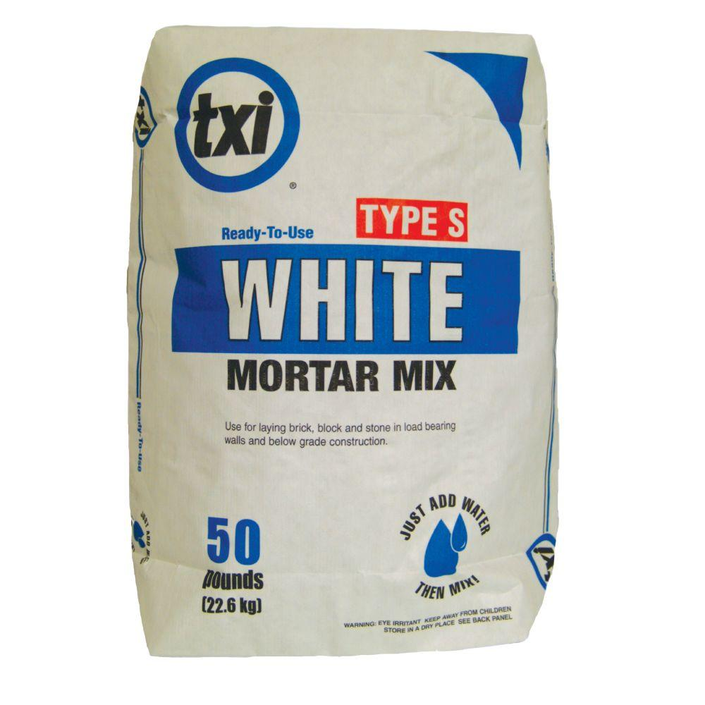Type S White Mortar Mix
