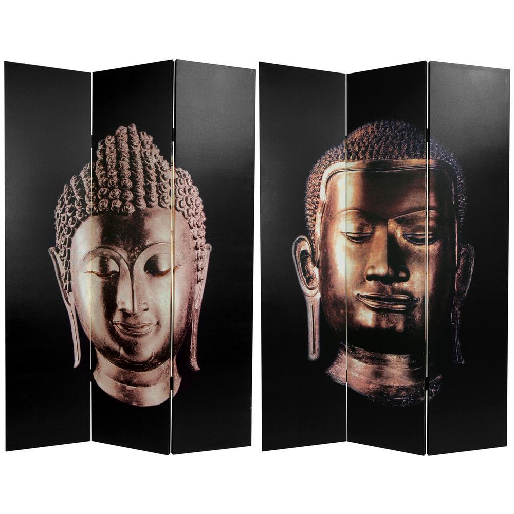 Oriental Furniture 6 ft. Printed 3-Panel Room Divider