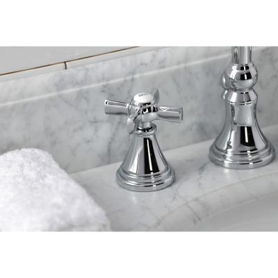 Millennium 8 in. Widespread 2-Handle Bathroom Faucet in Polished Chrome