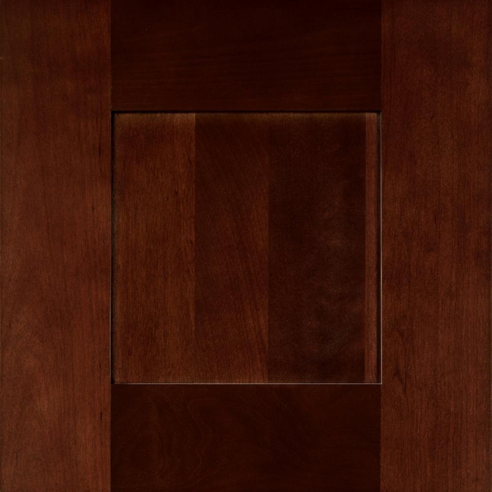 Home Decorators Collection 13x13 in. Franklin Cabinet Door Sample in Manganite Glaze