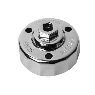 65.2 mm. x 14 Flute Mazda Snug Fit Oil Cap Wrench, Chrome