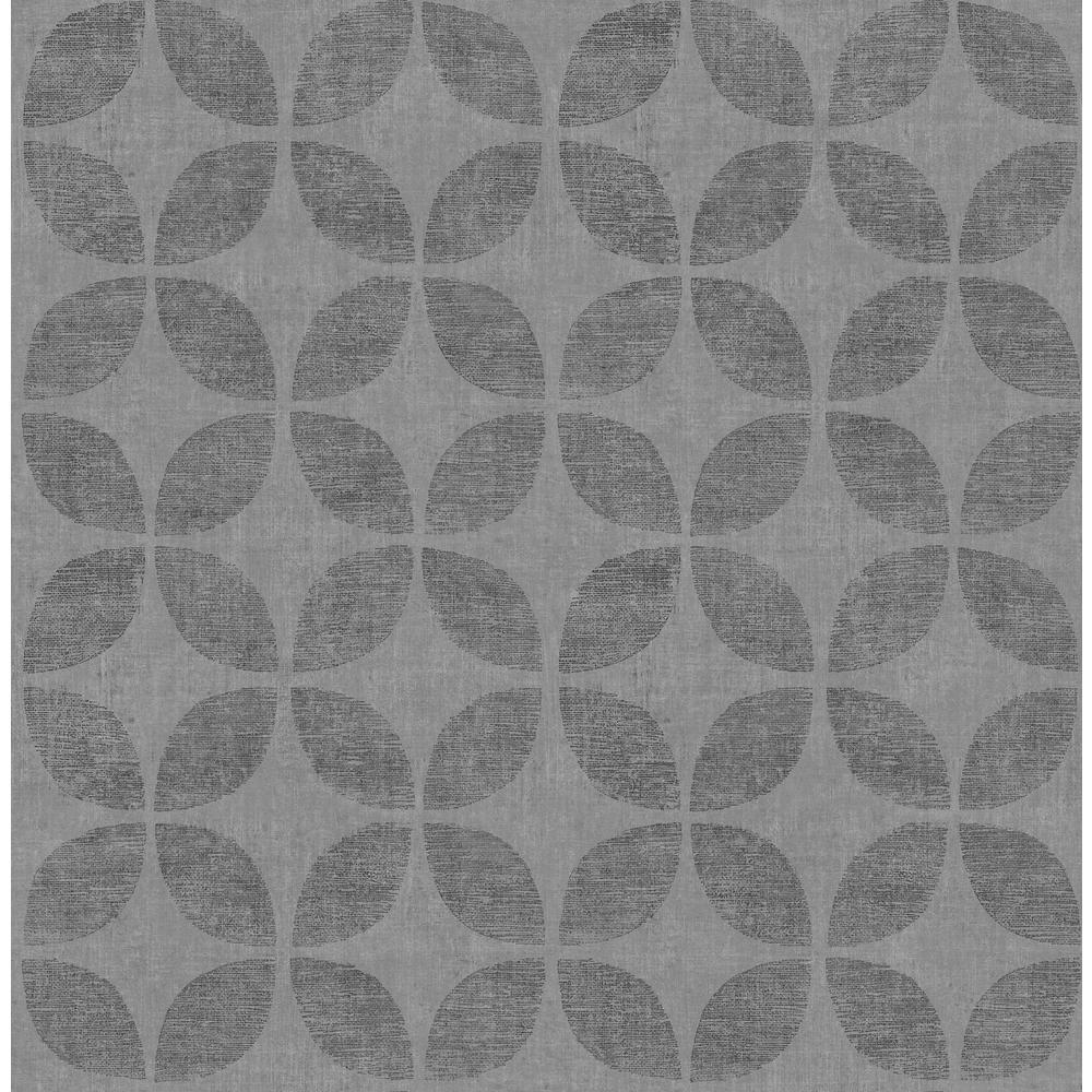 Polaris Blue Geometric Wallpaper
