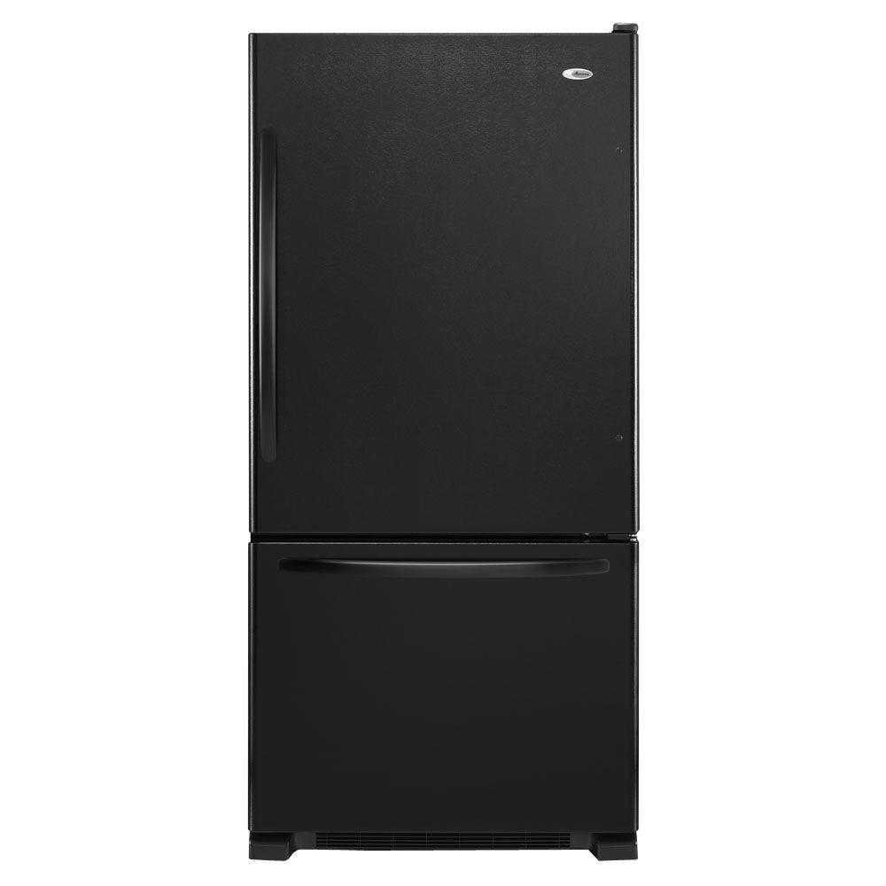 Amana 30 In W 18 7 Cu Ft Bottom Freezer Refrigerator In