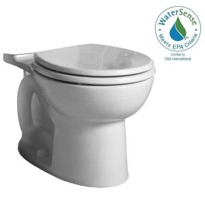 American Standard Cadet 3 FloWise Chair Height Round Toilet Bowl Only in White by American Standard