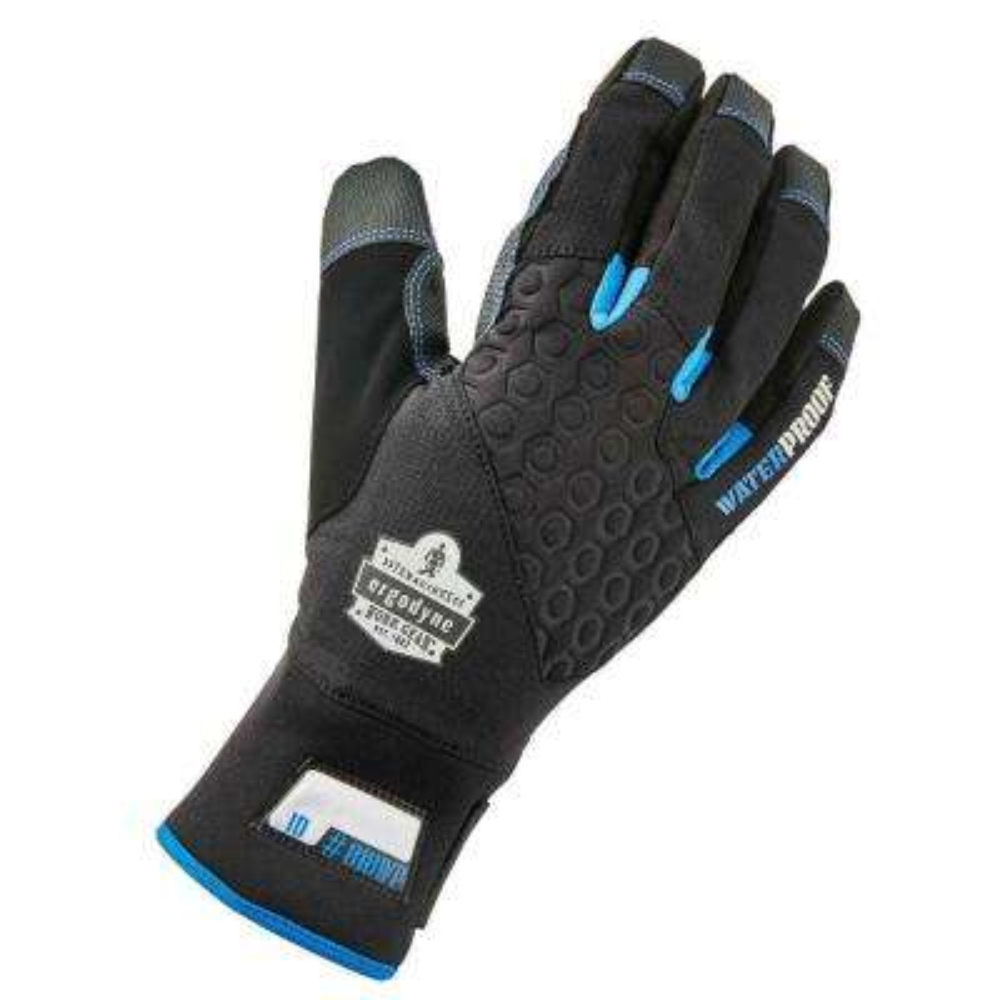 ProFlex Large Black Performance Thermal Waterproof Utility Gloves