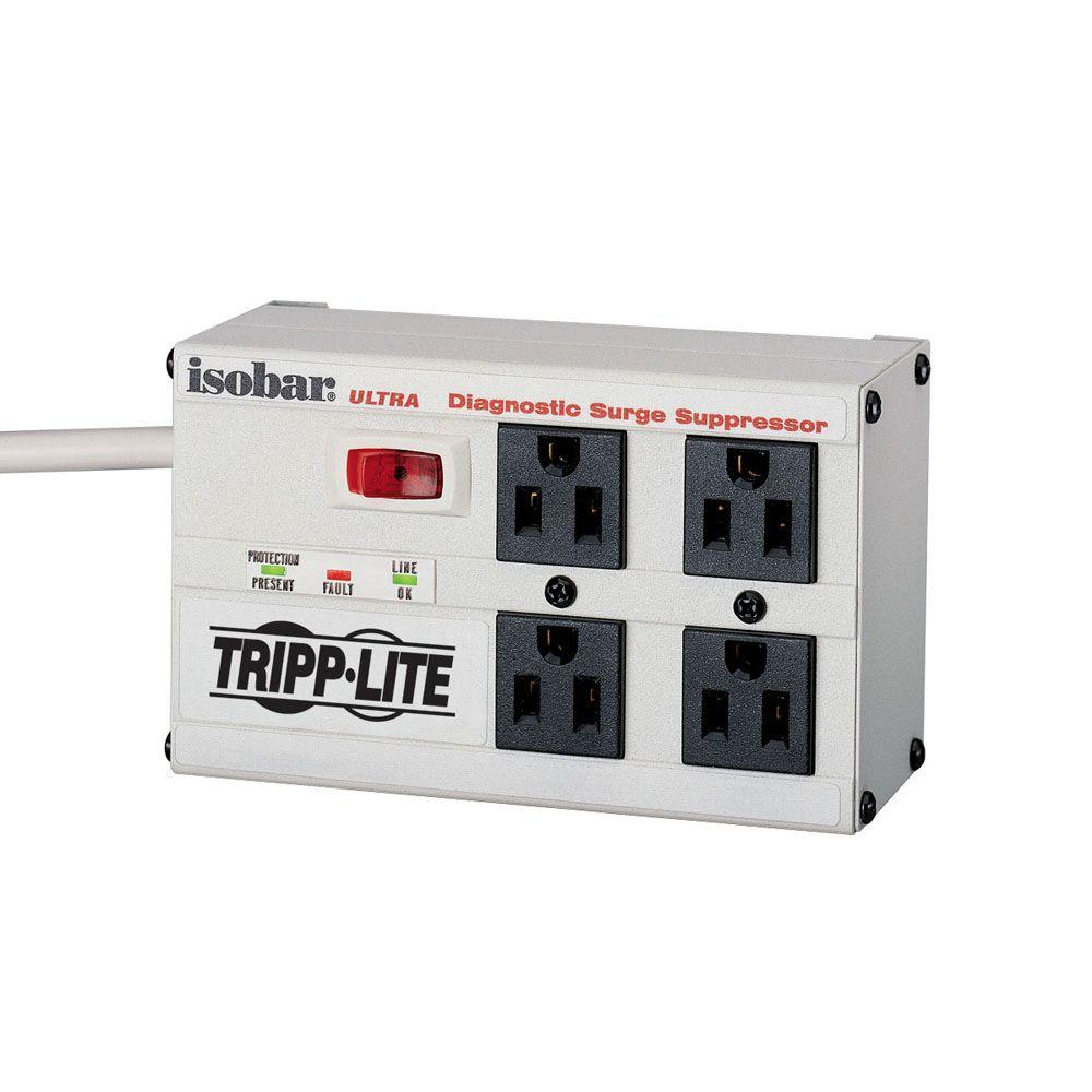 Tripp Lite Isobar 4 - 6 ft. Cord with 4-Oulet Strip