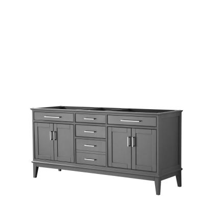 Margate 70.75 in. W x 21.5 in. D Bath Vanity Cabinet Only in Dark Gray