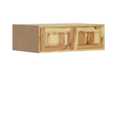 Madison Assembled 36x12x24 in. Wall Deep Cabinet in Hickory