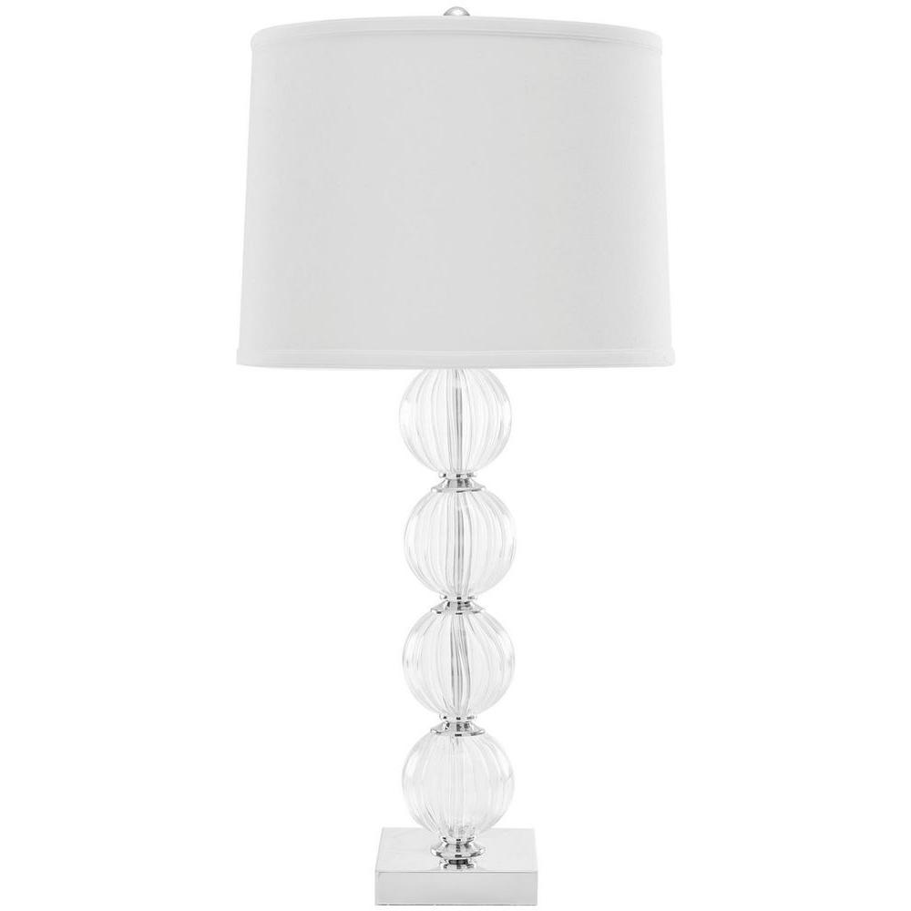 Eglo Geo 7 7 8 In White Glass Table Lamp 20134a The