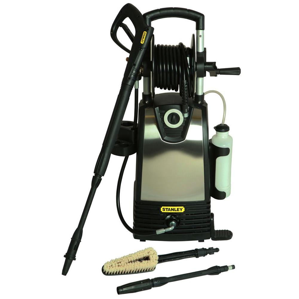 Stanley 2000-PSI 1.5-GPM Electric Pressure Washer with Multiple Accessories Included