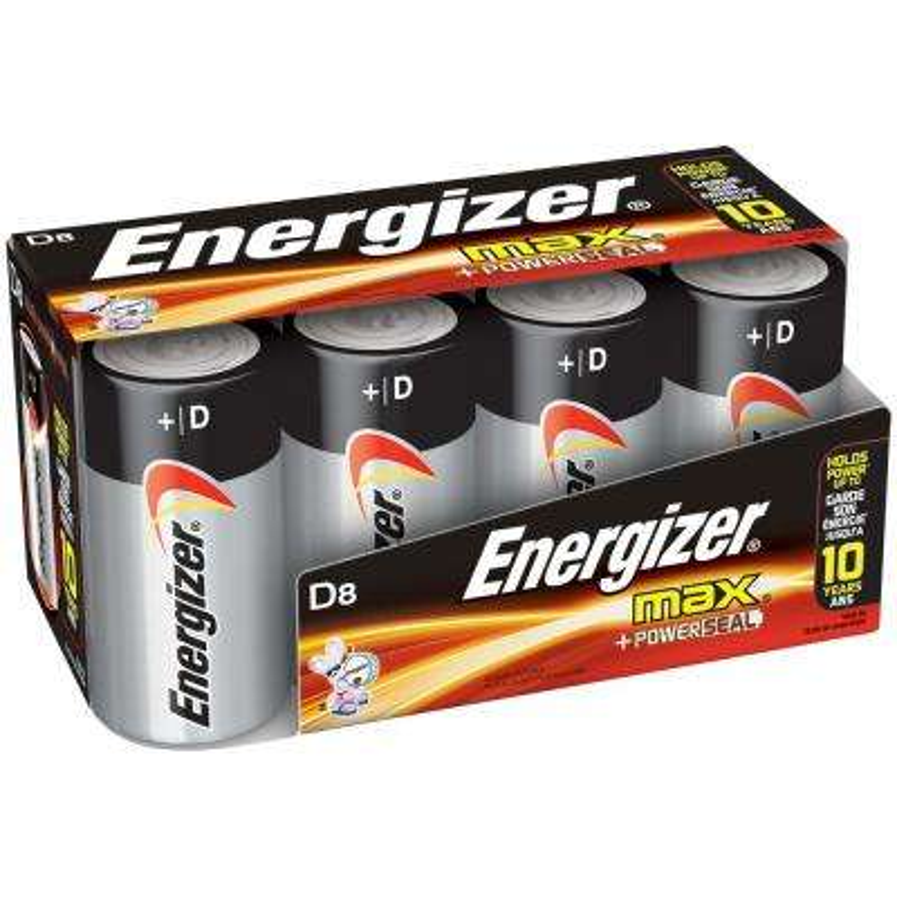 Alkaline D Battery (8-Pack)