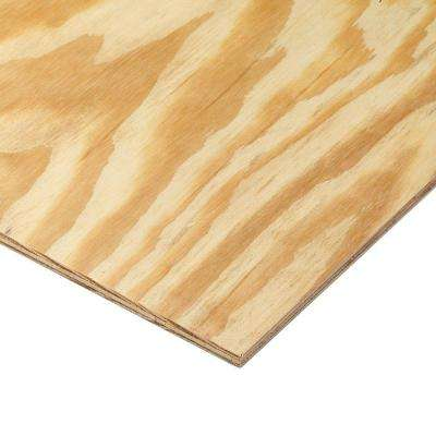 15/32 in. x 4 ft. x 8 ft. 3-Ply RTD Sheathing
