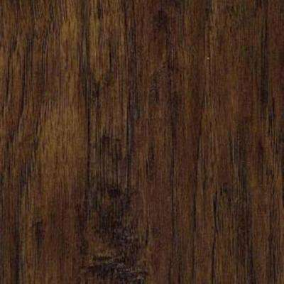 Handscraped Saratoga Hickory Laminate Flooring - 5 in. x 7 in. Take Home Sample