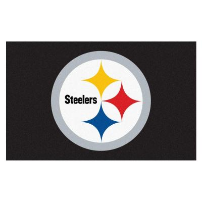 Pittsburgh Steelers 5 ft. x 8 ft. Ulti-Mat