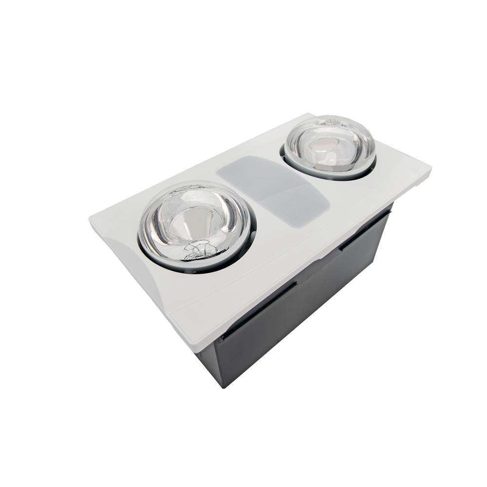 heat light exhaust fan bathroom 2 bulb 80 cfm ceiling bathroom exhaust fan with light and 23304