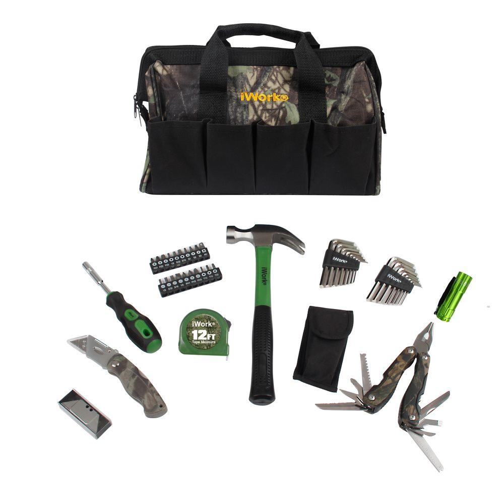 Olympia Camo Tool Bag Set 51 Piece