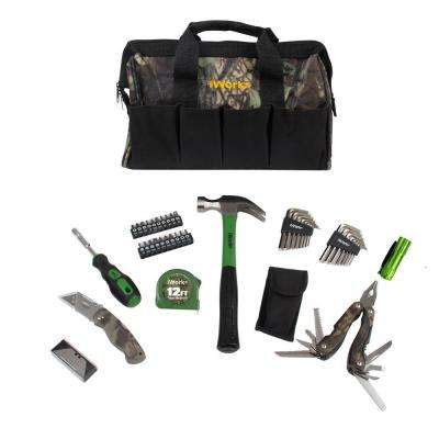 Camo Tool Bag Set (51-Piece)